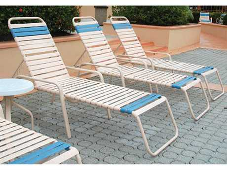 Windward Design Group Regatta Strap Aluminum Lounge Set