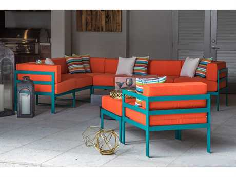 Windward Design Group South Beach Modular Aluminum Lounge Set