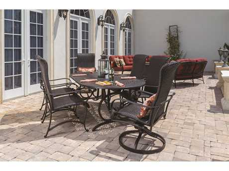 Windward Design Group Versailles Dining Cast Aluminum Dining Set