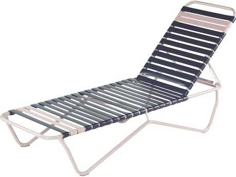 Windward Design Group Aruba Strap Aluminum Chaise Lounge