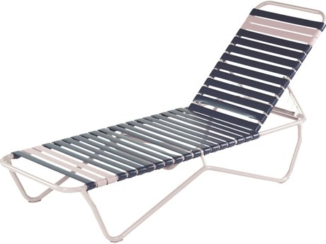 Windward Design Group Aruba Strap Aluminum Chaise Lounge WINW0110