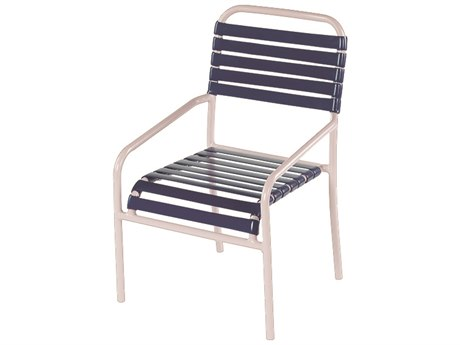 Windward Design Group Aruba Strap Aluminum Dining Chair