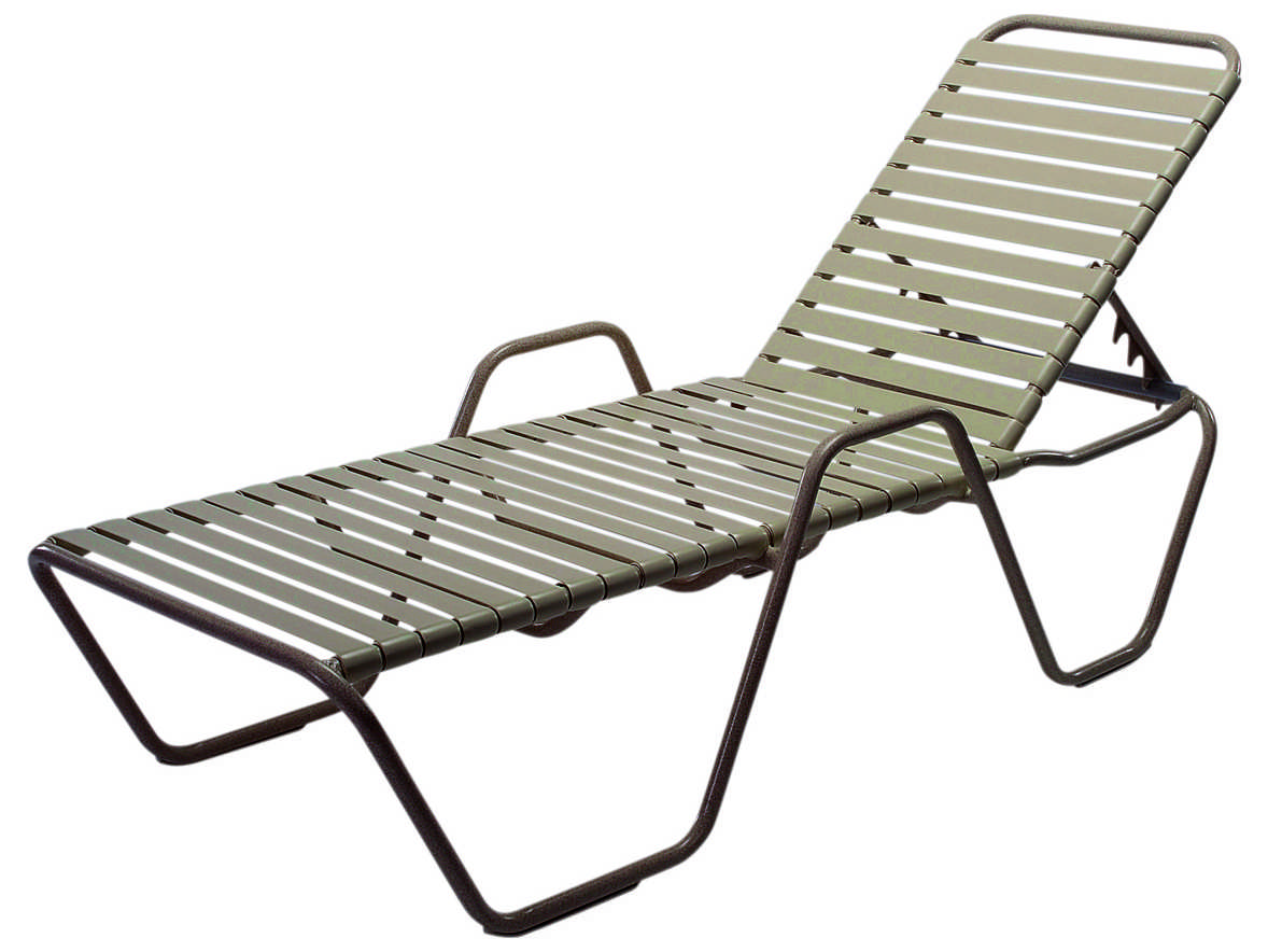 Windward design group country club strap aluminum skids for Chaise lounge aluminum