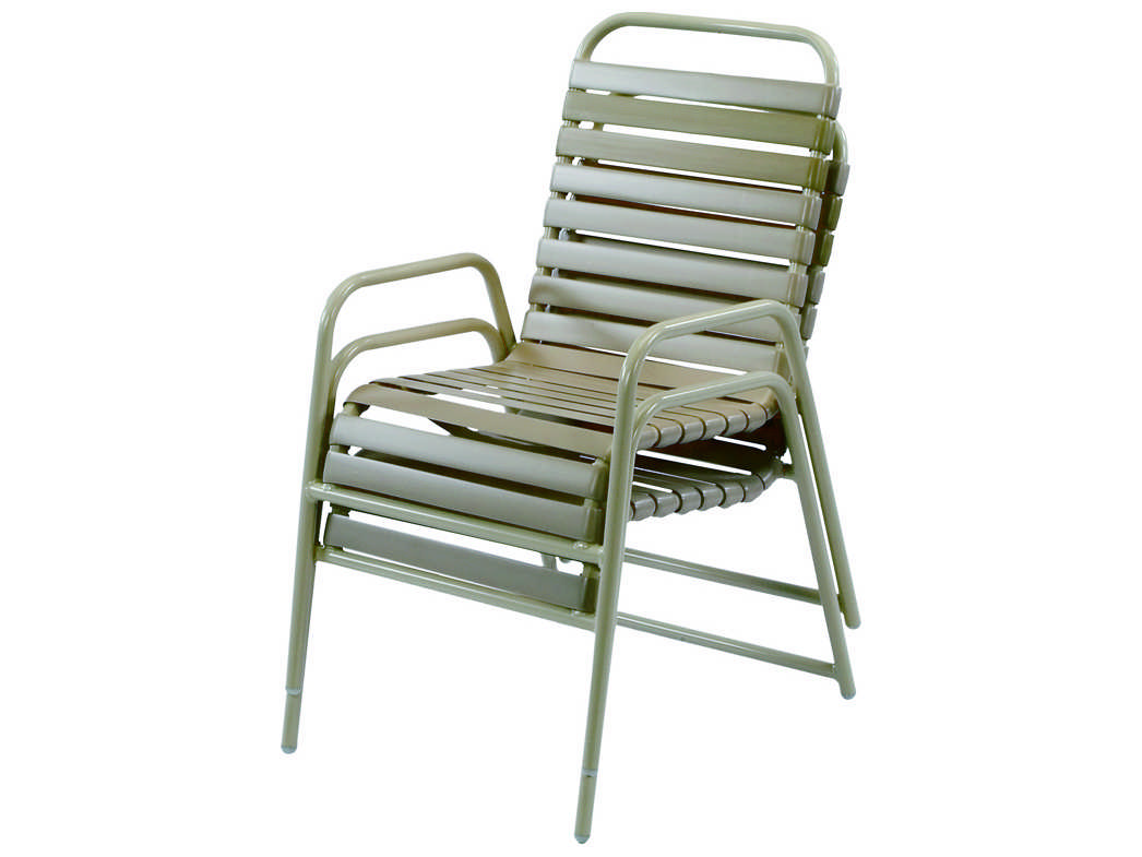Windward Design Group Country Club Strap Aluminum Dining