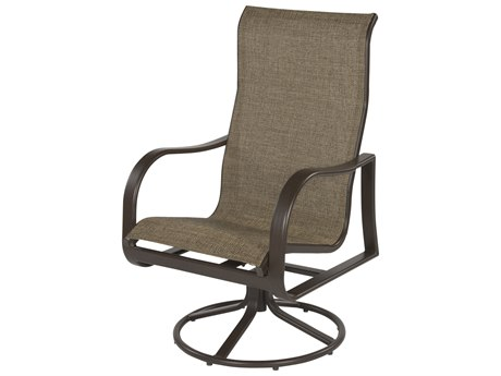 Windward Design Group Corsica Sling Aluminum High Back Swivel Rocker