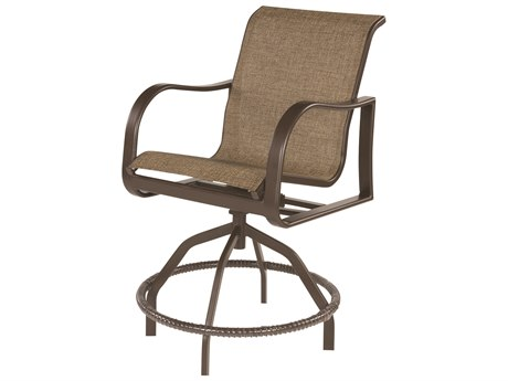 Windward Design Group Corsica Sling Patio Counter Stool