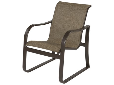 Windward Design Group Corsica Sling Aluminum Dining Arm Chair