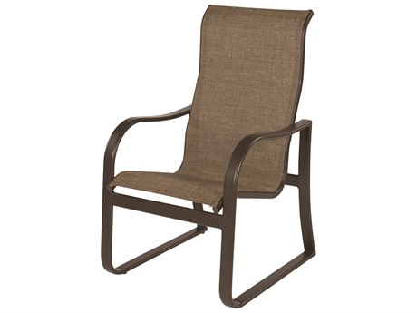 Windward Design Group Corsica Sling Aluminum High Back Dining Chair
