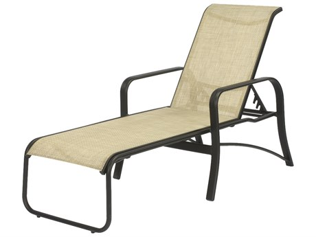 Windward Design Group Montego Bay Sling Aluminum Chaise Lounge