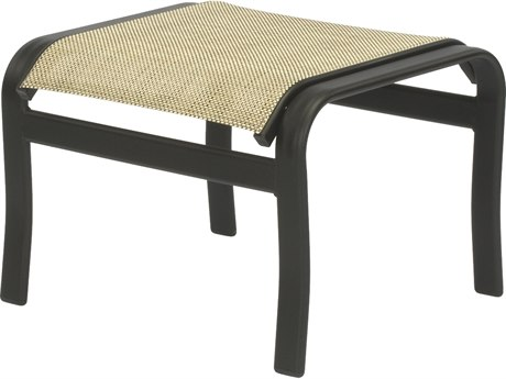 Windward Design Group Montego Bay Sling Aluminum Ottoman