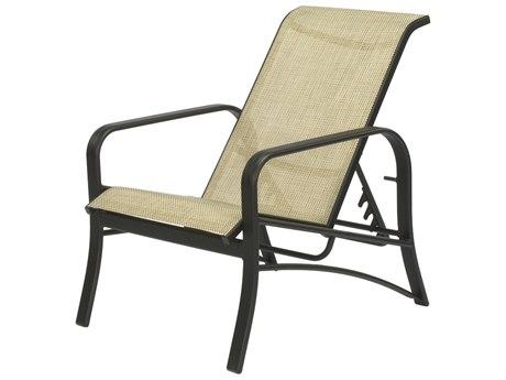 Windward Design Group Montego Bay Sling Aluminum Recliner Lounge Chair