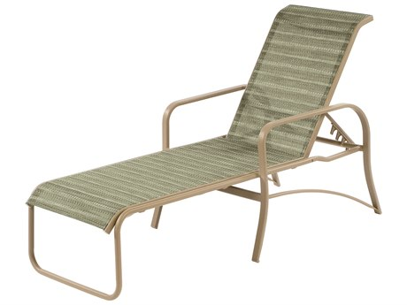 Windward Design Group Island Bay Sling Aluminum Chaise Lounge