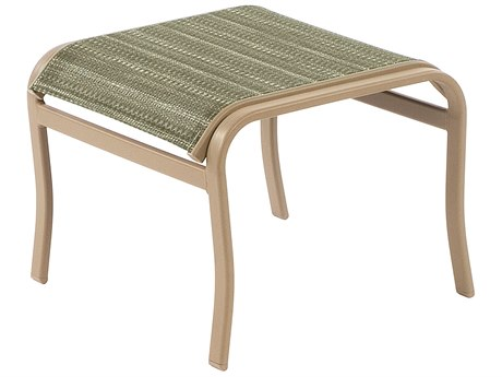Windward Design Group Island Bay Sling Aluminum Ottoman