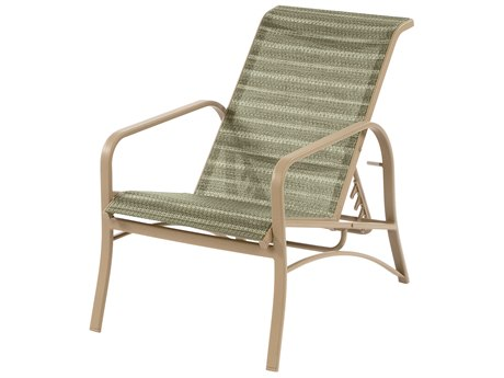 Windward Design Group Island Bay Sling Aluminum Recliner WINW0990