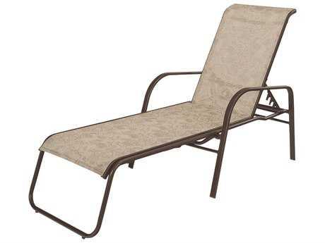 Windward Design Group Ocean Breeze Sling Aluminum Chaise Lounge