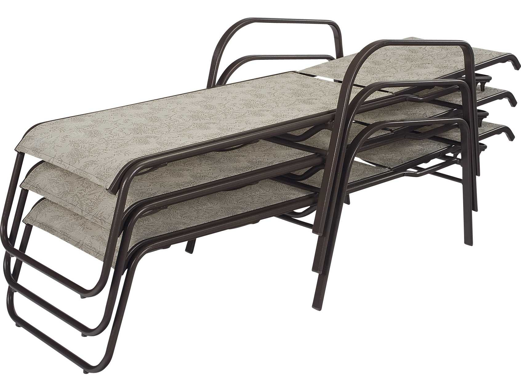 Windward Design Group Ocean Breeze Sling Aluminum Chaise Lounge
