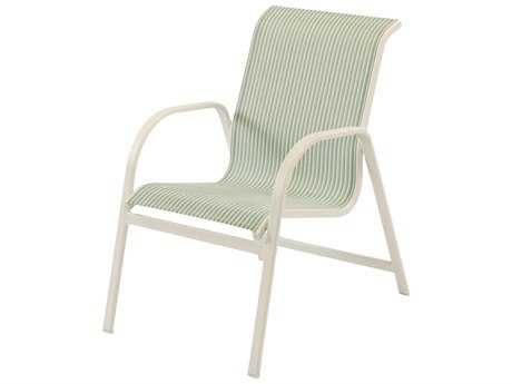 Windward Design Group Ocean Breeze Sling Aluminum Dining Arm Chair