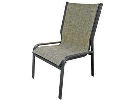 Windward Design Group Ocean Breeze Sling Aluminum Armless Dining Chair