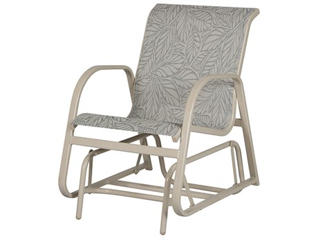 Windward Design Group Ocean Breeze Sling Aluminum Single Glider Lounge Chair