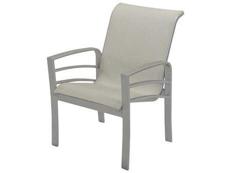 Windward Design Group Skyway Sling Aluminum Dining Arm Chair WINW1650
