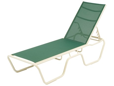 Windward Design Group Neptune Sling Aluminum Chaise Lounge