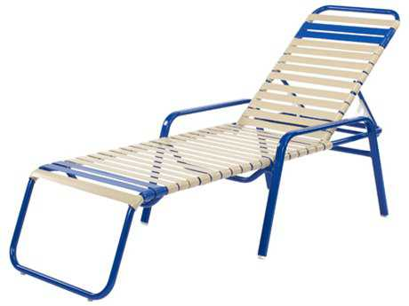 Windward Design Group Regatta Strap Aluminum Chaise Lounge