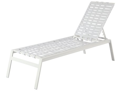 Windward Design Group Skyway Ii Sling Aluminum Armless Chaise Lounge