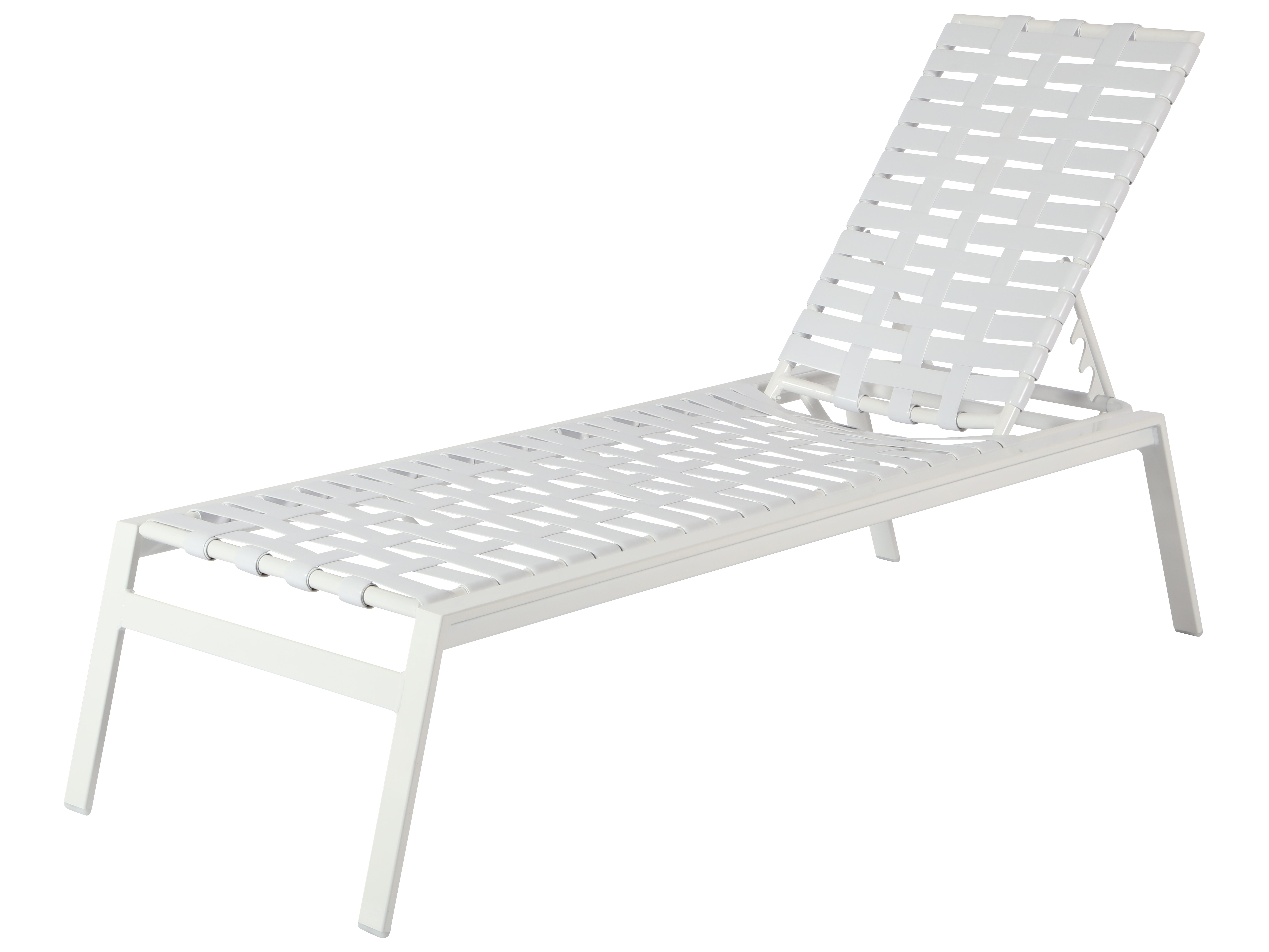 Windward Design Group Skyway Ii Sling Aluminum Armless Chaise Lounge Winw2011