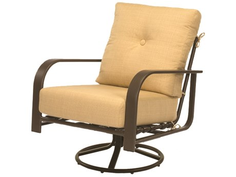 Windward Design Group Harbourage Deep Seating Aluminum Lounge Chair Swivel Rocker