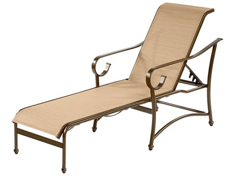 Windward Design Group West Wind Sling Aluminum Chaise Lounge
