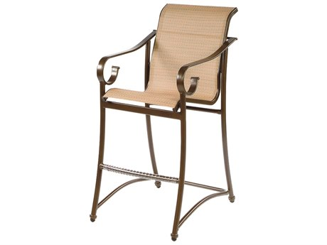 Windward Design Group West Wind Sling Aluminum Bar Chair