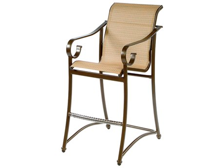 Windward Design Group West Wind Sling Aluminum Bar Stool