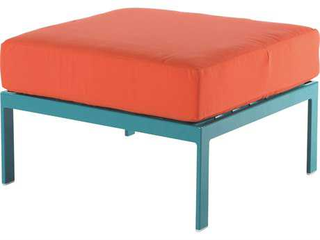 Windward Design Group South Beach Modular Aluminum Cushion Ottoman