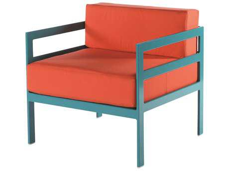 Windward Design Group South Beach Modular Aluminum Cushion Lounge Chair