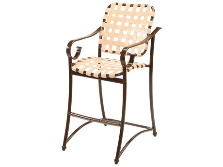 Windward Design Group West Wind Strap Aluminum Bar Chair