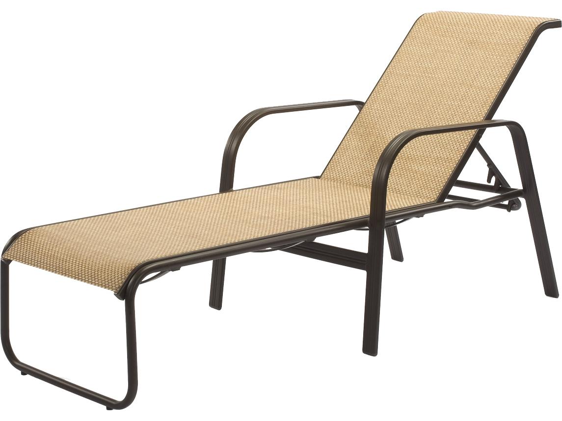 Windward Design Group Cabo Sling Aluminum Chaise Lounge