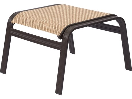 Windward Design Group Cabo Sling Aluminum Ottoman
