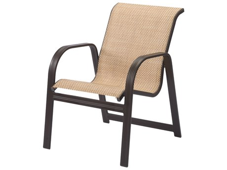 Windward Design Group Cabo Sling Aluminum Dining Arm Chair