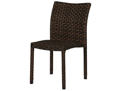 Windward Design Group Martin Stackable Kalua Wicker Dining Side Chair