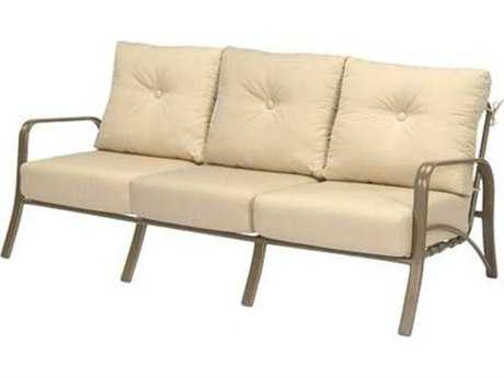 Windward Design Group Montego Bay Deep Seating Aluminum Sofa