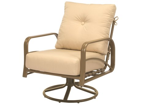 Windward Design Group Montego Bay Deep Seating Aluminum Lounge Chair Swivel Rocker