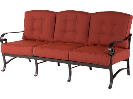 Windward Design Group Versailles Deep Seating Cast Aluminum Sofa