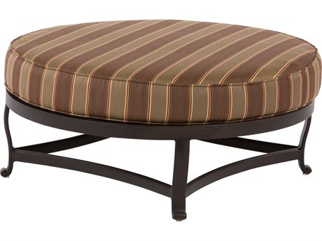Windward Design Group Versailles Deep Seating Cast Aluminum Oversized Ottoman
