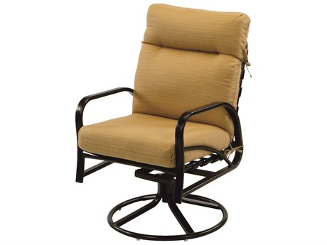 Windward Design Group Island Bay Cushion Aluminum Dining Swivel Rocker