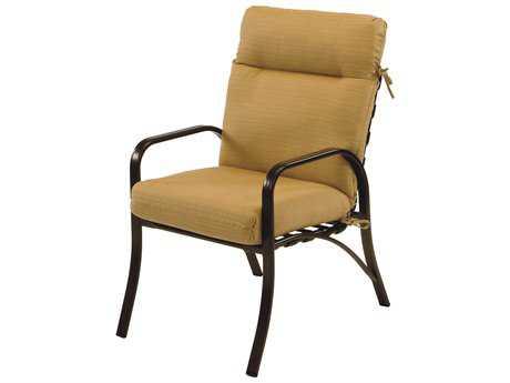 Windward Design Group Island Bay Cushion Aluminum Dining Arm Chair
