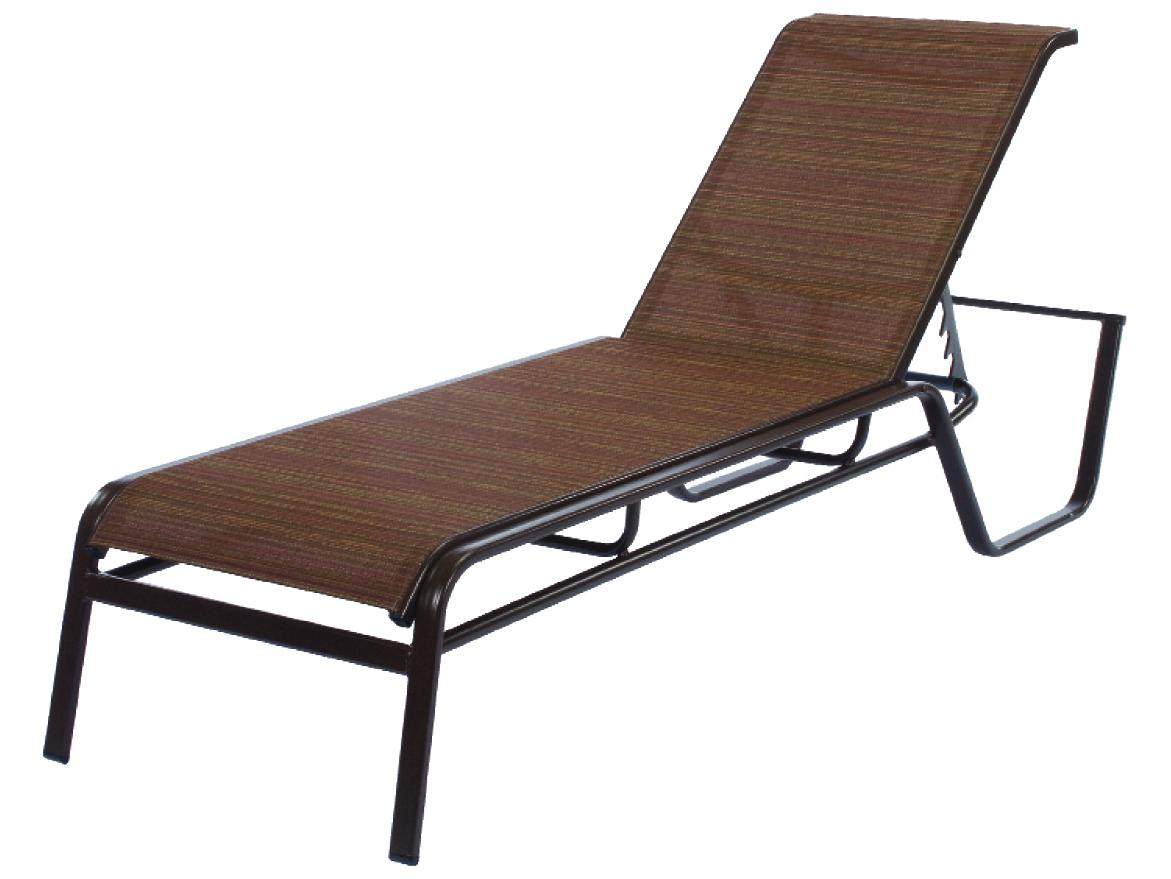 Windward Design Group Monterey Sling Aluminum Chaise
