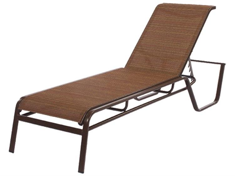 Windward Design Group Monterey Sling Aluminum Chaise Lounge PatioLiving
