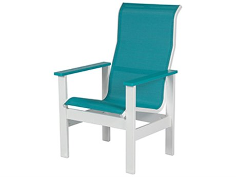 Windward Design Group Kingston Sling Mgp High Back Dining Arm Chair