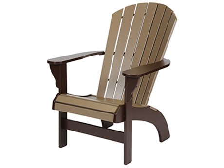 Windward Design Group Adirondack Recycled Plastic Comfort Height
