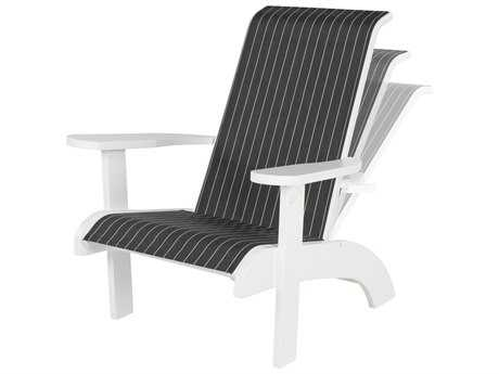 Windward Design Group Marine Grade Polymer Sling Adirondack Recliner